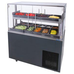 Saladsbuffetvagn Cube